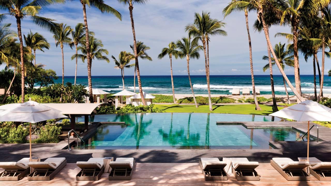 hualalai photos videos luxury resort four seasons hualalai