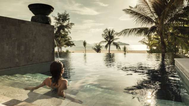 Oceanfront Quiet Pool for Adults at Four Seasons Resort Langkawi