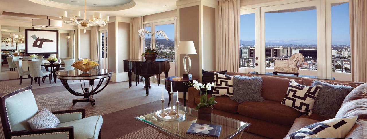 Los Angeles Luxury Hotels Four Seasons Hotel Los Angeles Ca