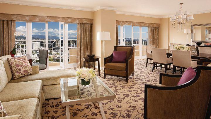 Premier Suite Los Angeles Suites Four Seasons Hotel Los Angeles