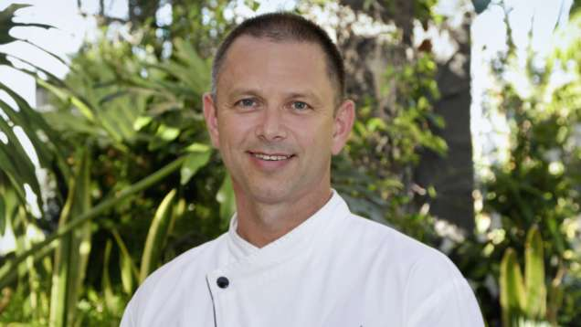 Restaurant Chef Chris Aguirre at Four Seasons Hotel San Francisco