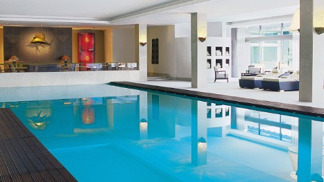 Lisbon Hotel Pool | Indoor Lap Pool | Four Seasons Hotel Ritz