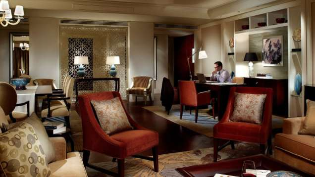 Ambassador Suite at Four Seasons Hotel Macau, a Five-Star Hotel in Macau
