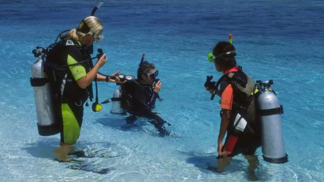 Learn to Dive Package in the Maldives