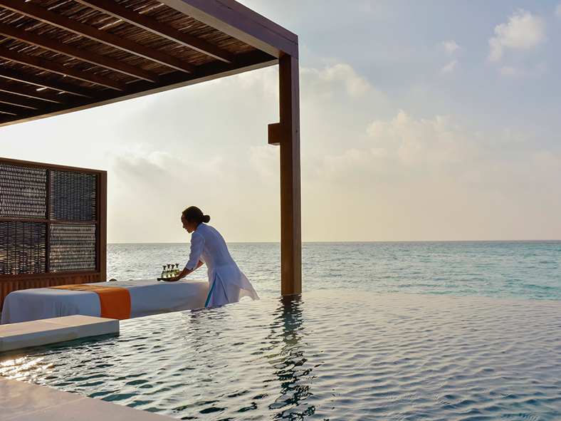Maldives spa treatment