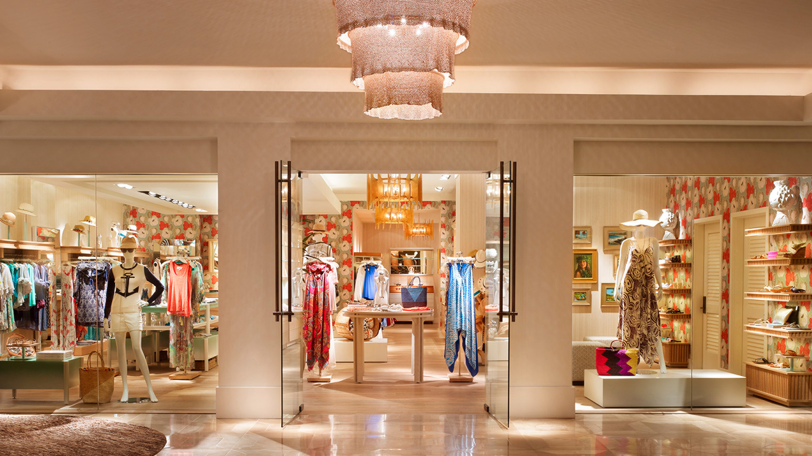 The Collection Of One A Kind Luxury Boutiques At Four Seasons Resort Lanai Located Just Off Reception Lobby Mae Pilina And Mua Loa