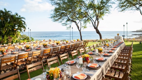 Gather Your Group At The Luau Gardens Four Seasons Resort Lanai For A Gourmet Dinner And Live Rock Concert Or Philharmonic Orchestra Performance