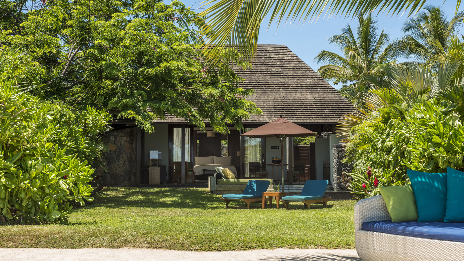 Beach Pool Villa at Four Seasons Resort Mauritius at Anahita