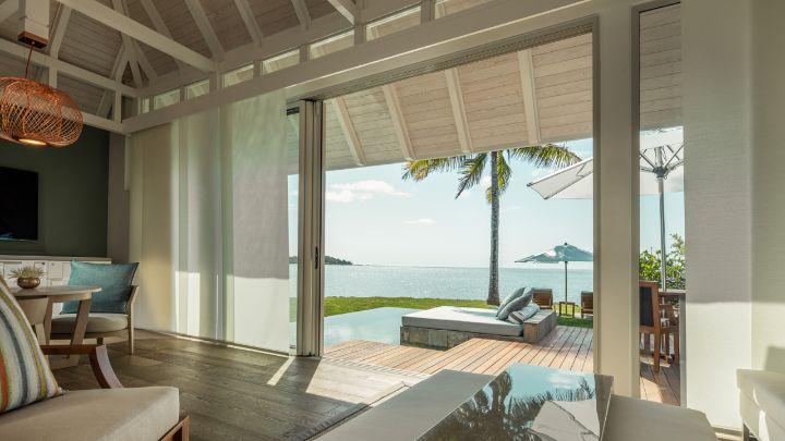 Sanctuary ocean pool villa mauritius four seasons resort for Garden pool villa four seasons mauritius