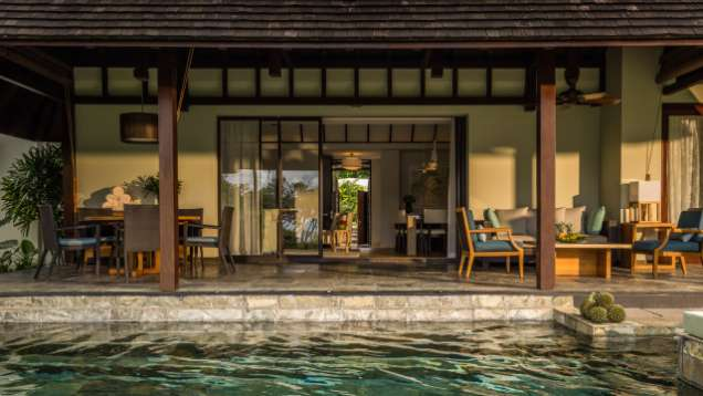 two bedroom villa four seasons resort mauritius at anahita