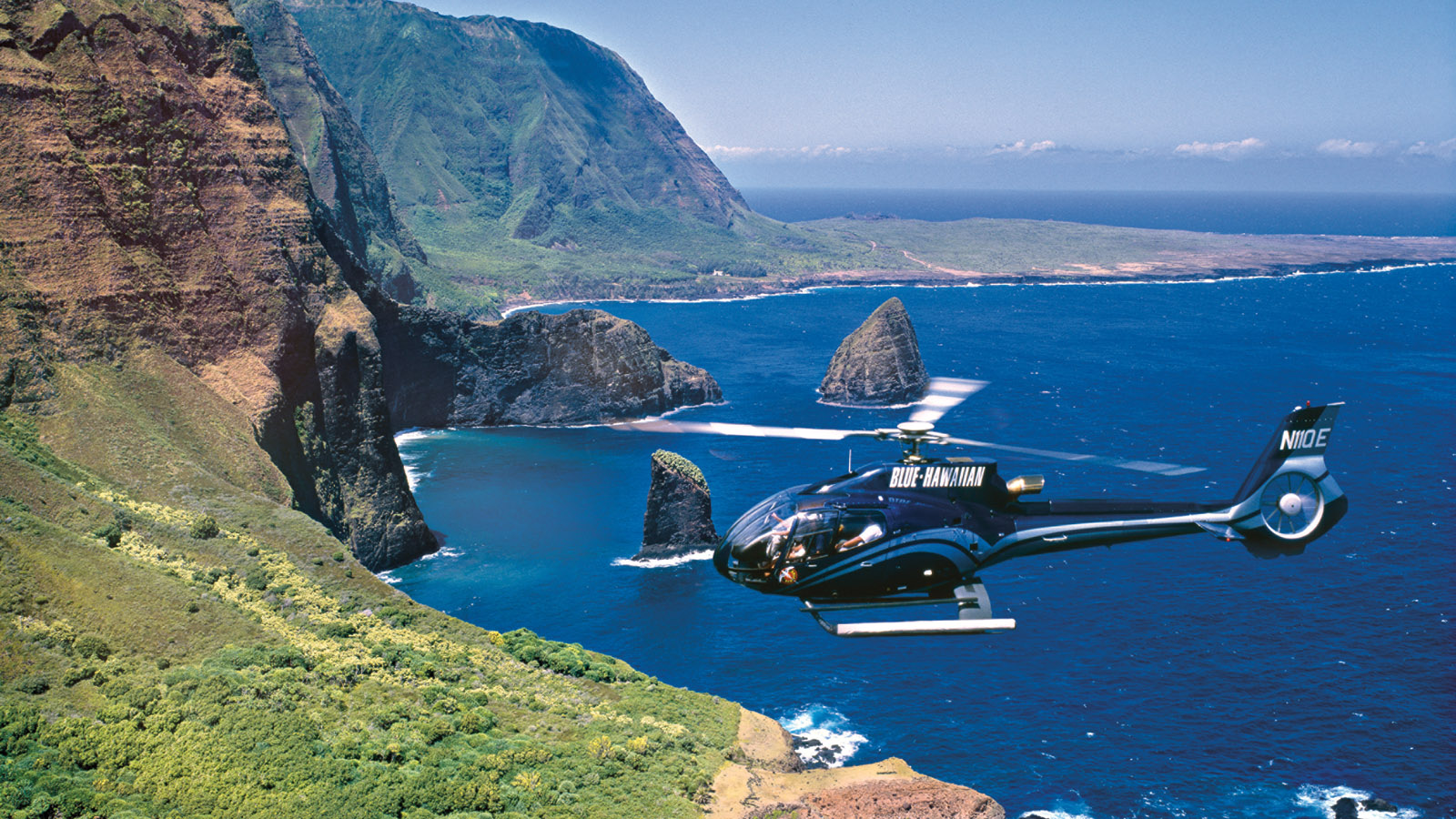 Helicopter tours in Maui, Hawaii at Four Seasons Resort