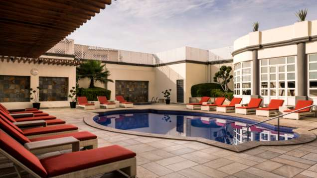 Terraza Piscina Al Aire Libre Hoteles 5 Estrellas En