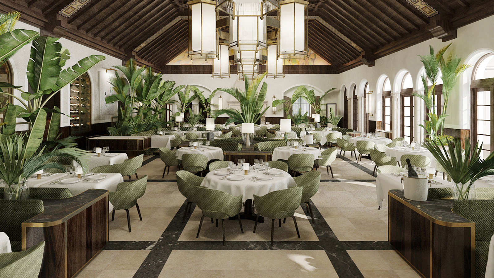 Four seasons hotel at the surf club surfside now for 4 seasons decoration