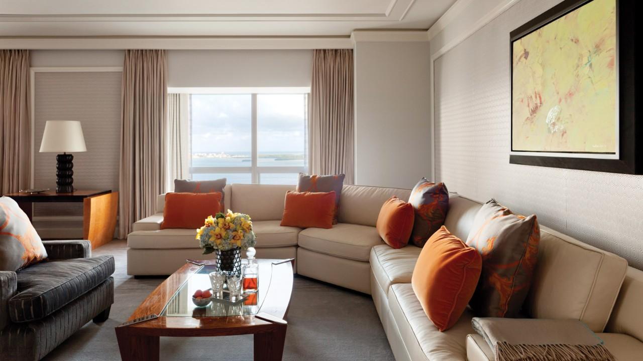 One Bedroom Suite Premier One Bedroom Suite Bay View Miami Suites Four Seasons