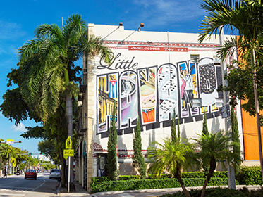 Sample Cuban cuisine in Little Havana