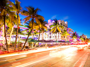 Savour the energy of South Beach