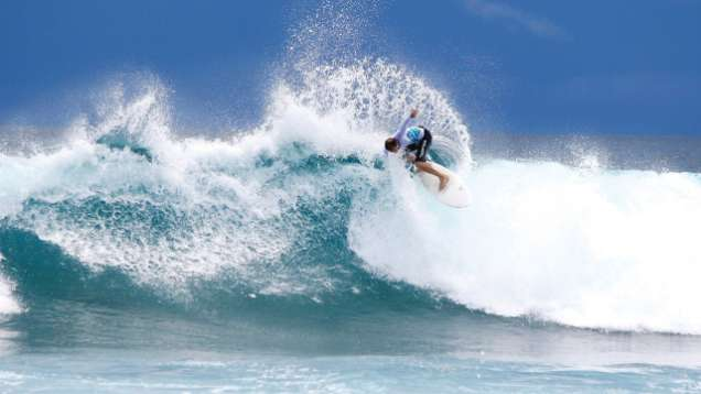 Surf's Up Package Offered at Four Seasons Resort Maldives at Kuda Huraa, a Luxury Resort in the Maldives