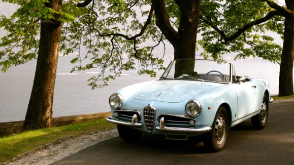 A Day at Lake Como Driving the Fascinating Giulietta Spider