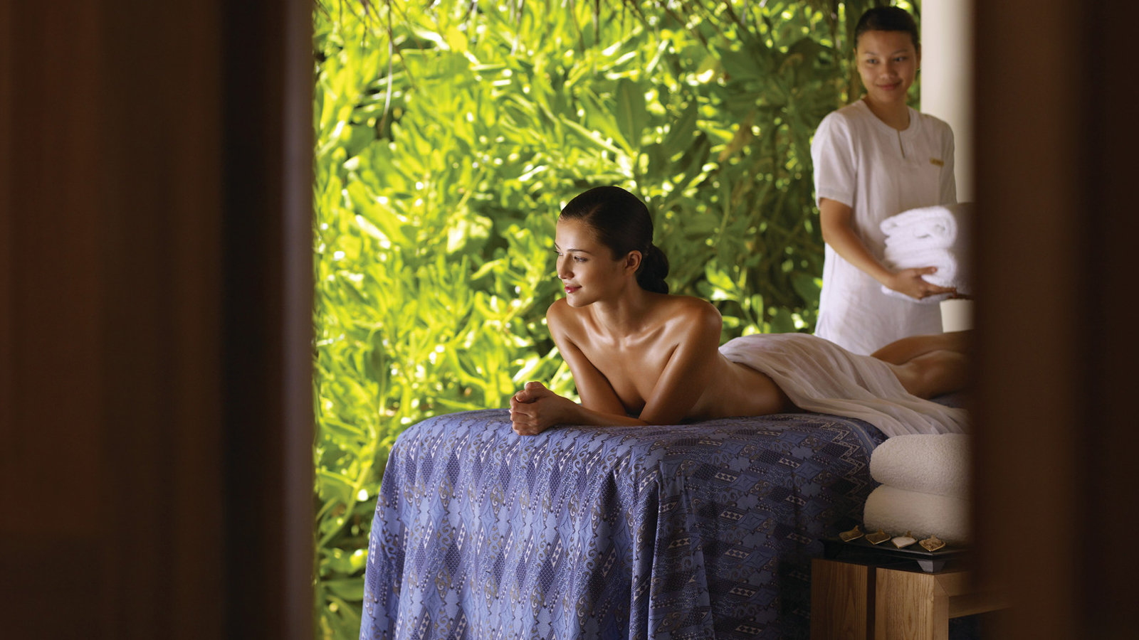 Massages at The Spa at Four Seasons Resort Maldives at Landaa Giraavaru
