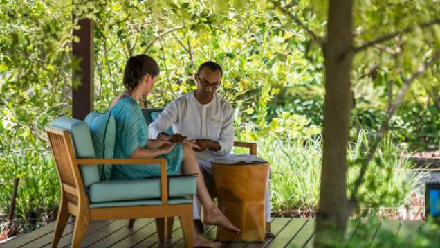 All-inclusive Ayurvedic Immersions at The Spa at Four Seasons Resort Maldives at Landaa Giraavaru