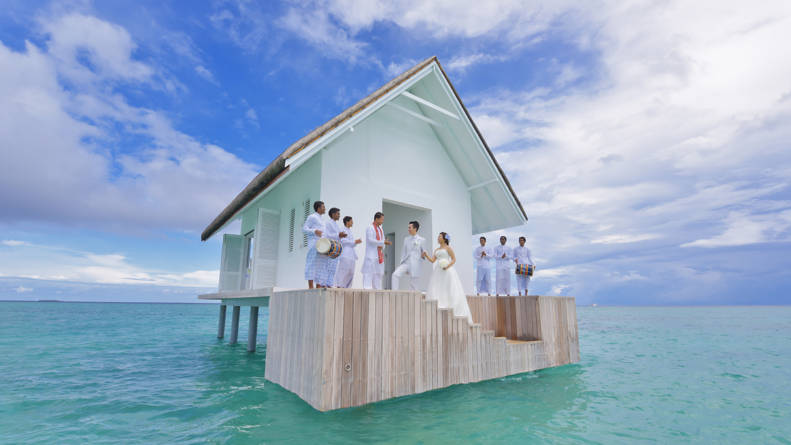 Overwater Wedding Pavilion