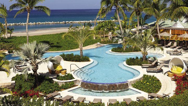 Garden Pool | Caribbean Luxury Resort | Four Seasons Nevis