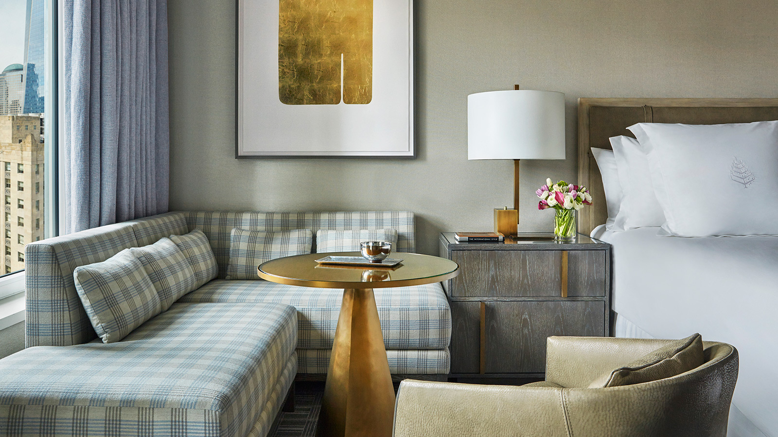 Panoramic Studio Suite with Terrace at Four Seasons Hotel New York