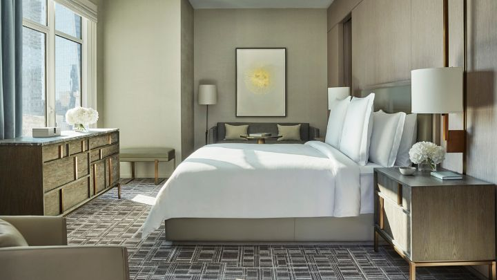 Grand Premier Room Luxury Hotel Nyc Downtown Four Seasons