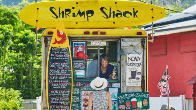 Shrimp Shack in Oahu