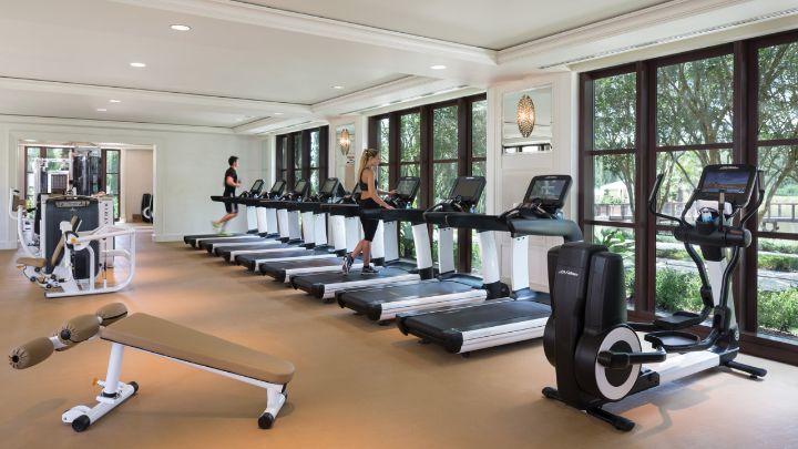 Fitness facilities orlando hotel gym four seasons orlando