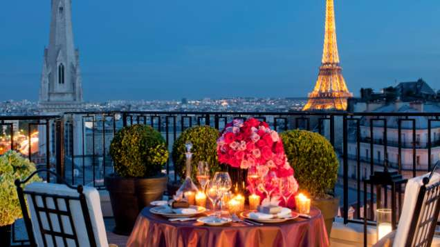 Honeymoon in Paris at Four Seasons Hotel George V Paris