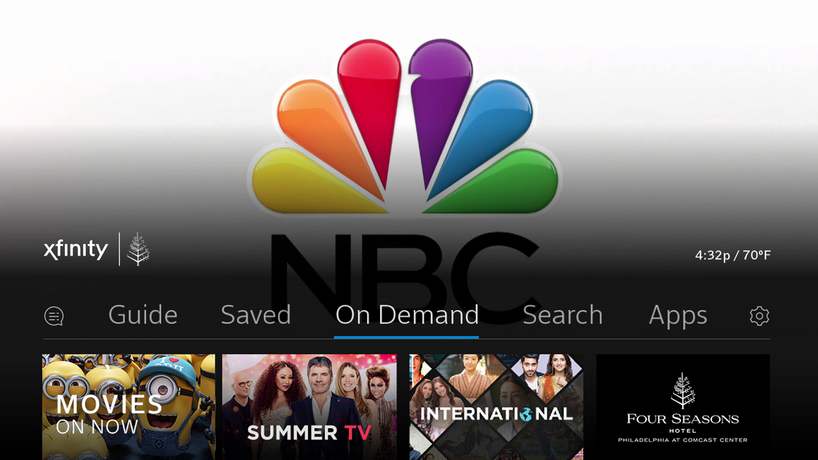 Comcast Business Launches X1 for Hospitality - Four Seasons