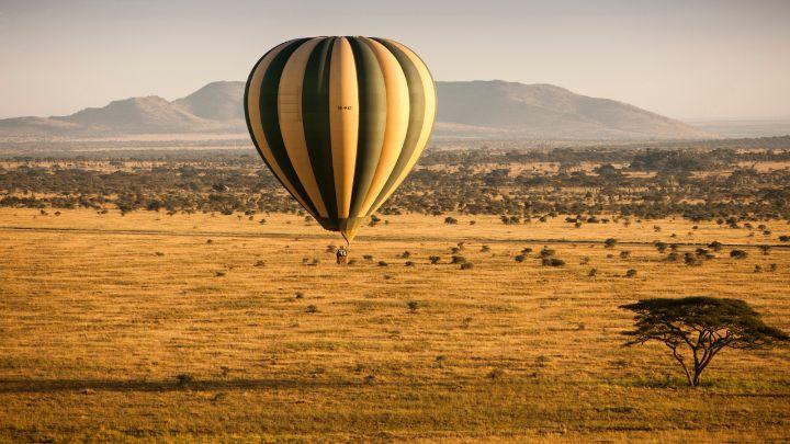 Pozorování Velké migrace z balónu