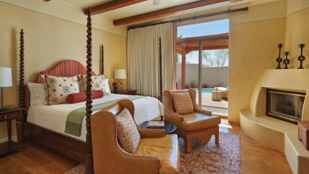 Green Rooms at Four Seasons Resort Scottsdale at Troon North