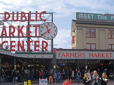 Shop Pike Place Market as a VIP