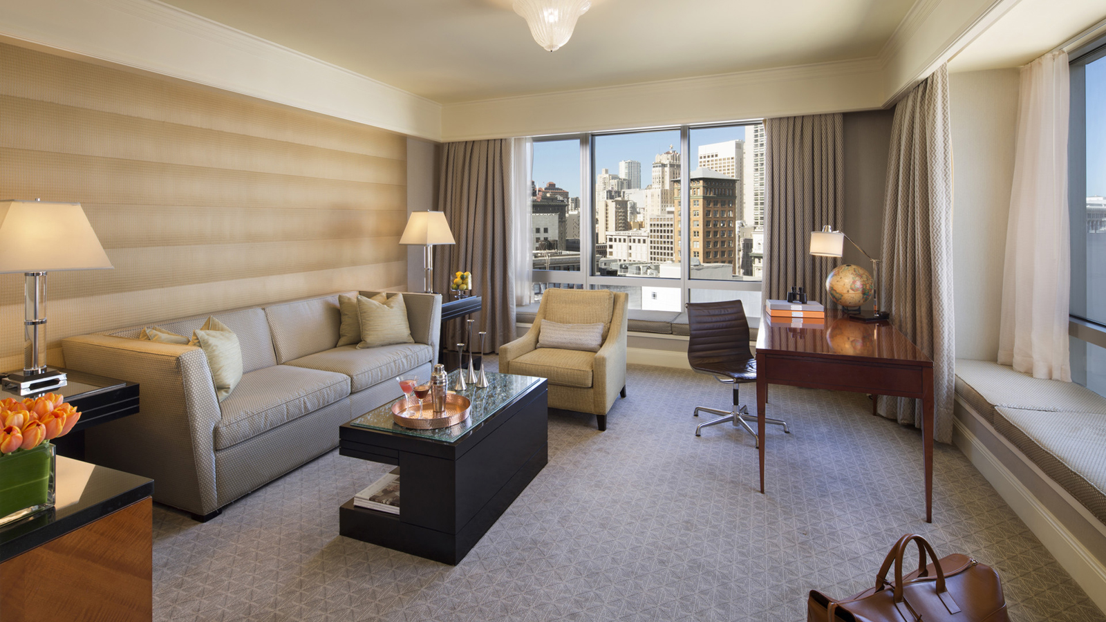 Four Seasons San Francisco Luxury Hotel Room