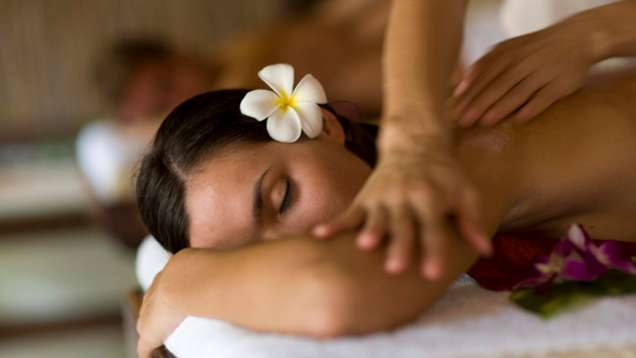Balinese Massage Offered in the Spa at Four Seasons Resort Bali at Sayan