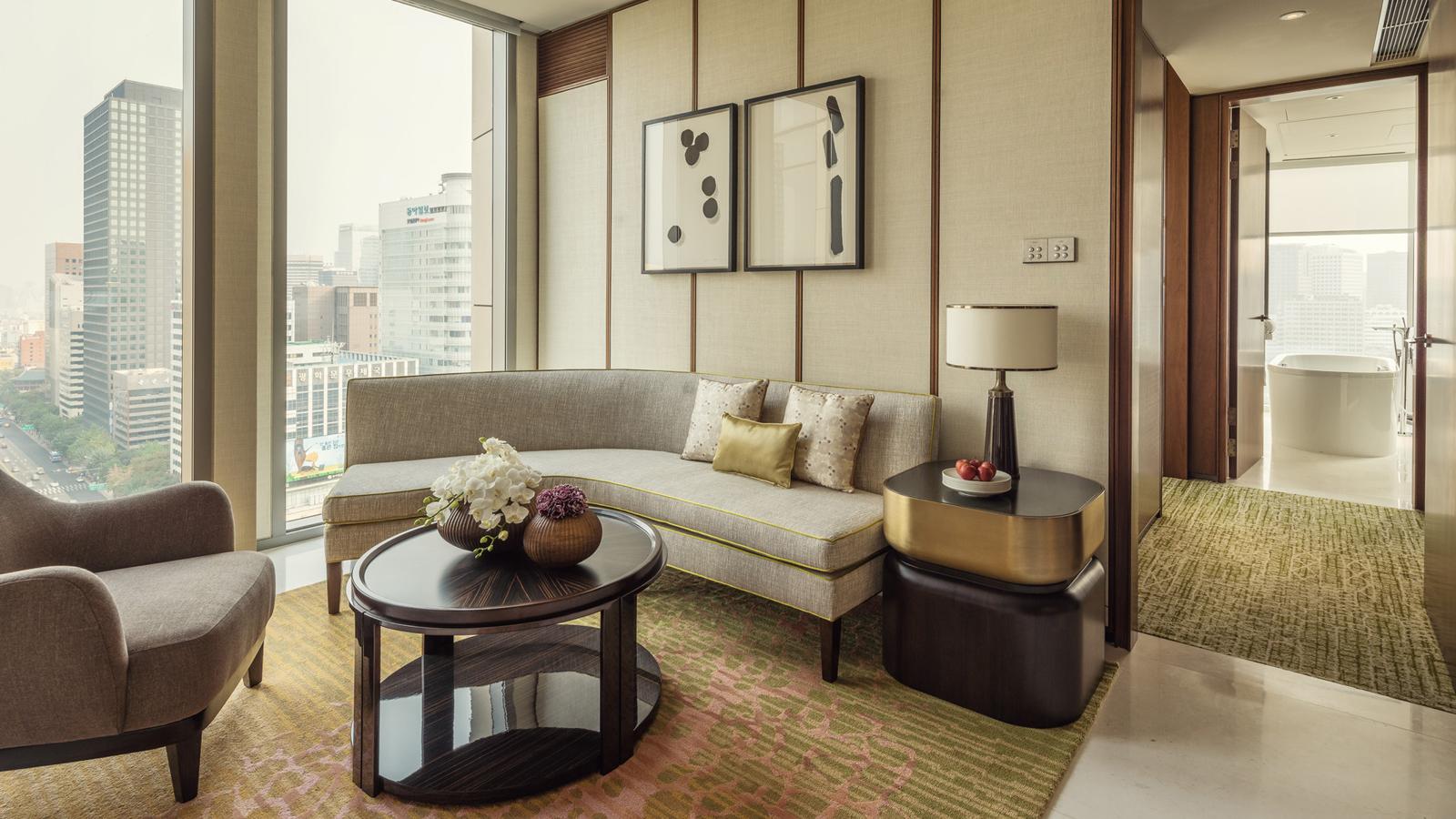 Stay Longer Third Night Free Four Seasons Seoul Luxury Hotel Room