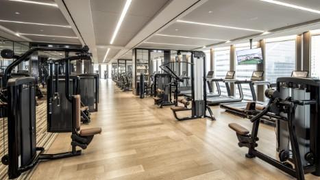 Seoul hotel gym fitness facilities four seasons hotel seoul