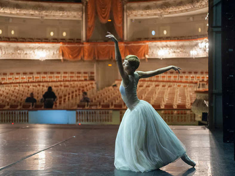 Enjoy backstage access to the ballet