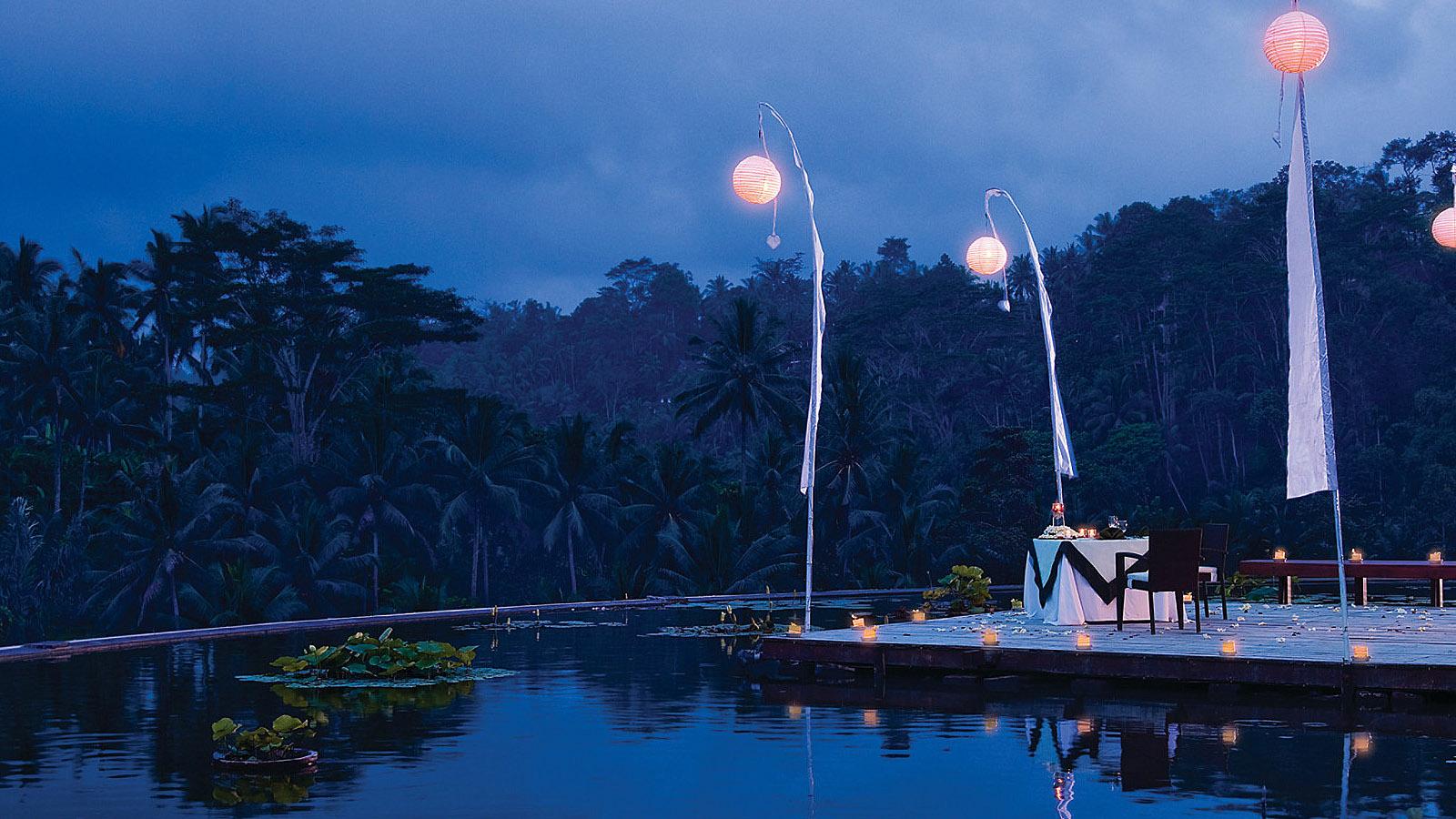 Romantic honeymoon bali packages four seasons resort bali at sayan