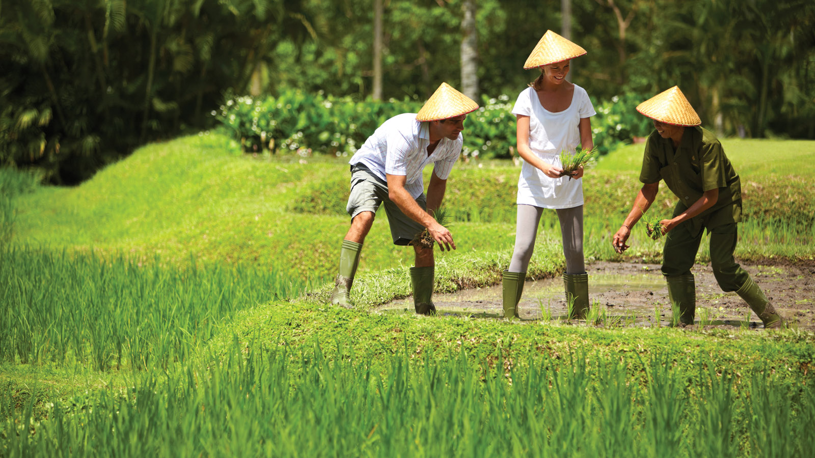 Experience Traditional, Rural Life and a Day in the Life of a Balinese Farmer at Four Seasons Resort Bali at Sayan