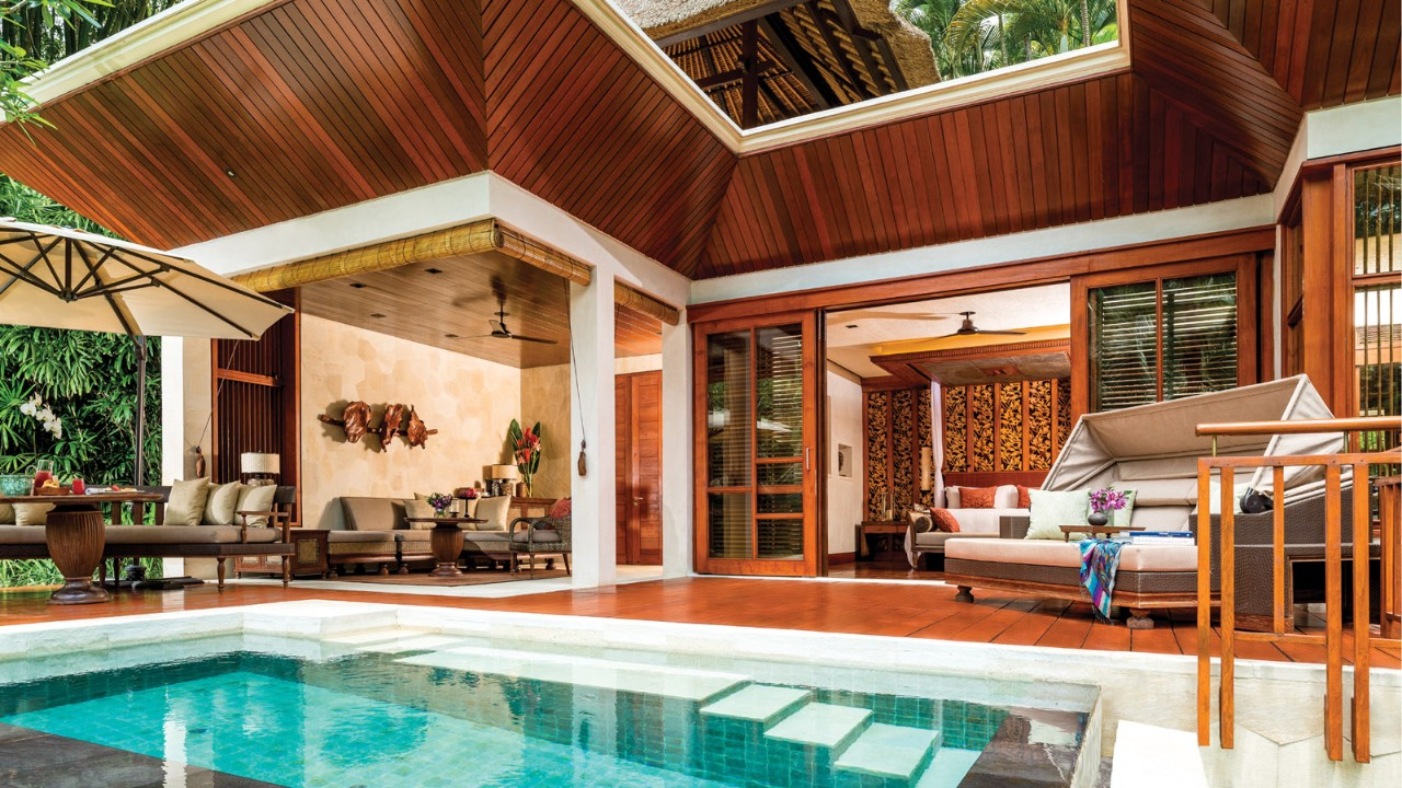 Bali 2 Bedroom Villas Model Design Onebedroom Villa With Private Pool  Four Seasons Bali At Sayan