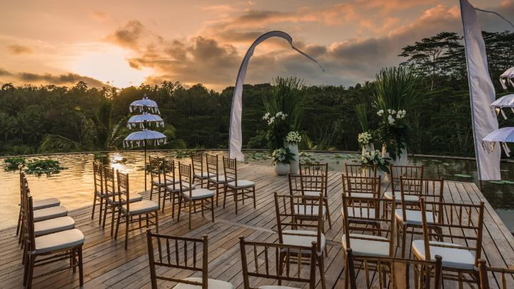 Bali Wedding Venues Ubud Wedding Venue Four Seasons At Sayan
