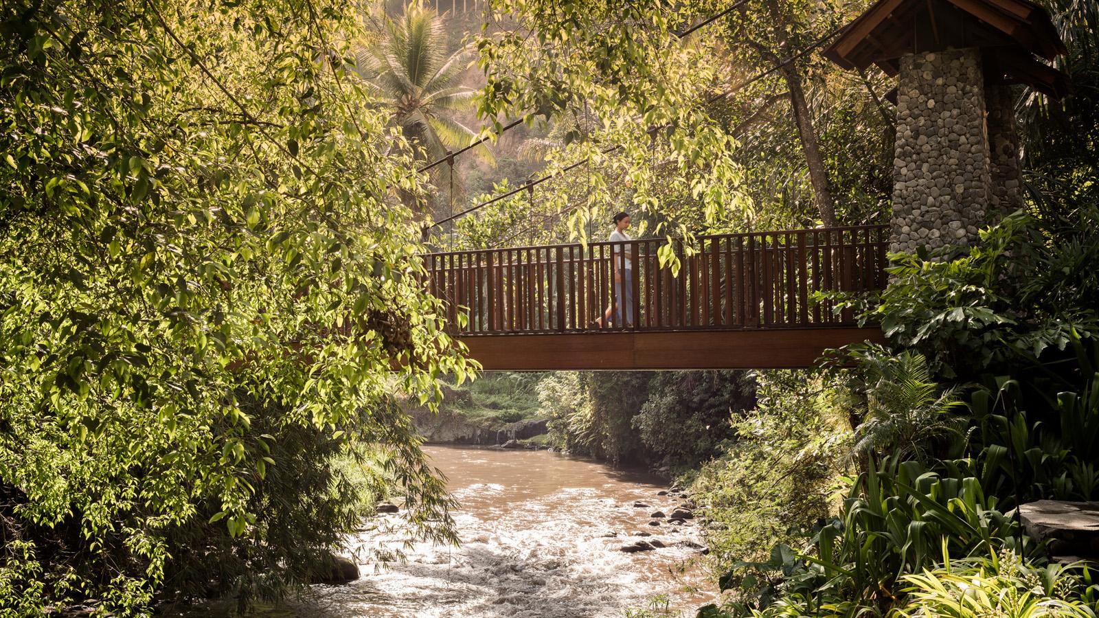 Four Seasons Resort Bali At Sayan Opens New Bridge For