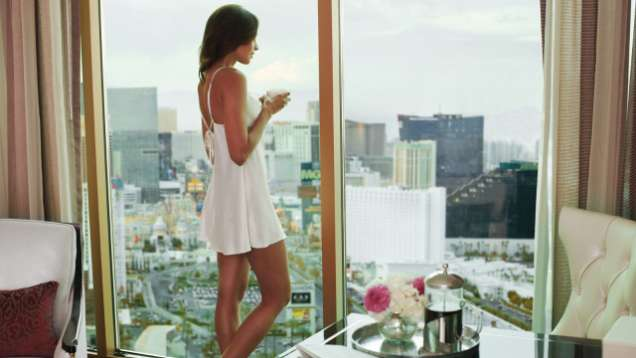 Las Vegas Hotel Room With Strip View at Four Seasons