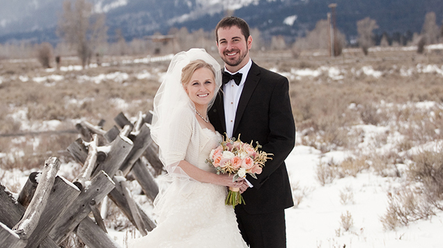 A Holiday Wedding In Jackson Hole