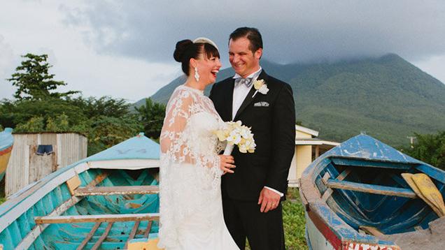 A Destination Wedding In Nevis