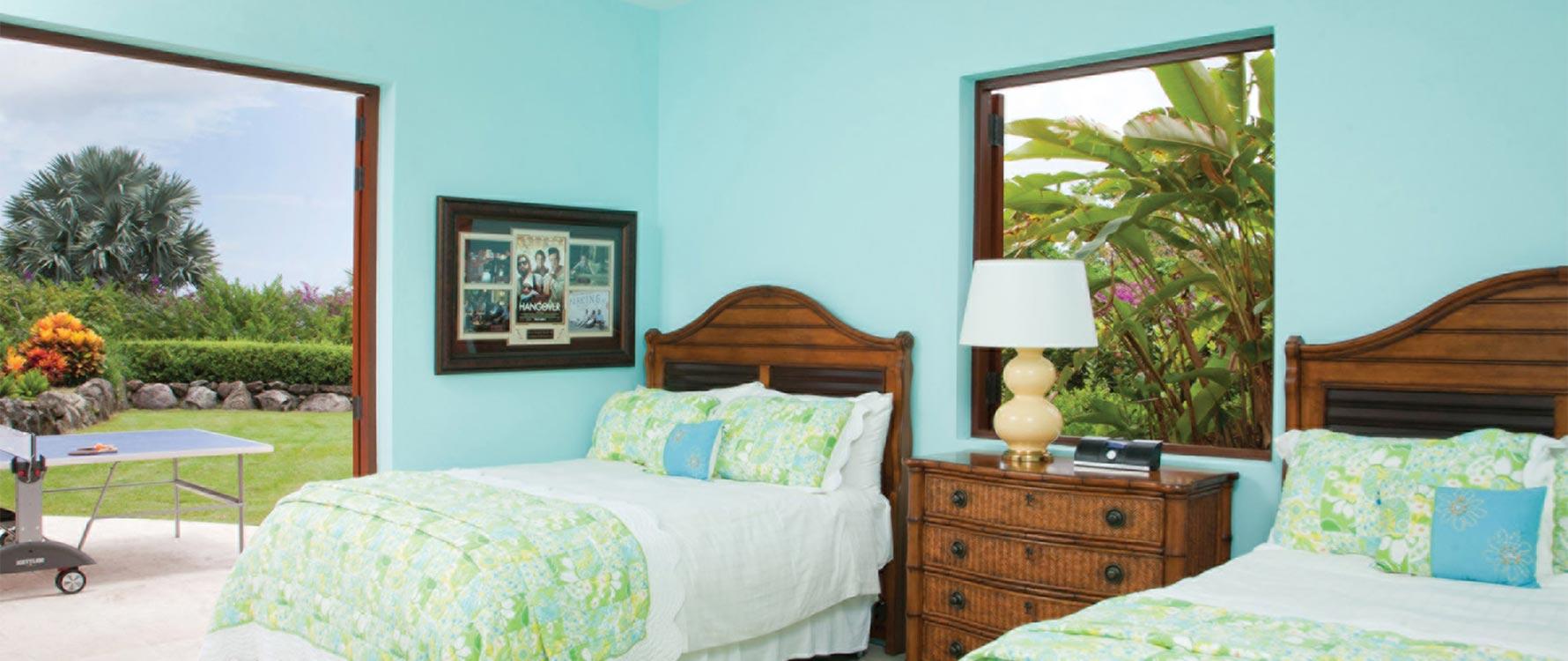 Lower double bedroom