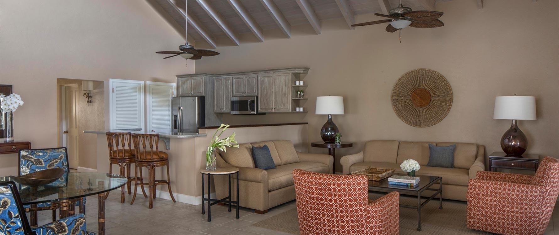 Living room/kitchen/dining-bar